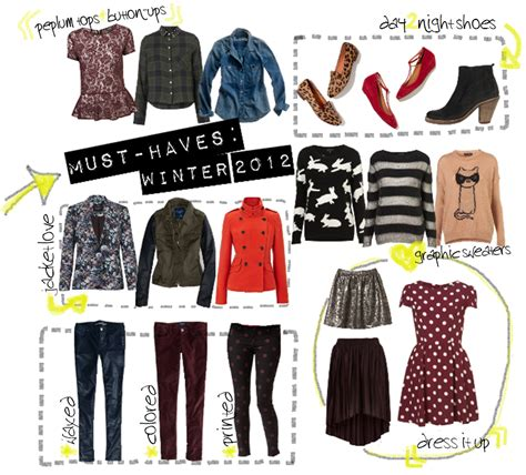 Must Haves In Your Closet by How To Look When It S Cold Winter Wardrobe Must Haves