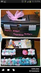 Geschenke Für Junge Väter : daddys diaper changing tool box geburt m dchen baby ~ A.2002-acura-tl-radio.info Haus und Dekorationen