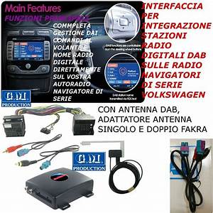 Interfaccia Digitale Dab Rcd 300 310 500 510 Vw Mutilvan