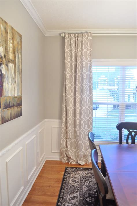 newlywed mcgees dining room curtains