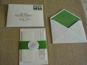 our invitations weddingbee With wedding invitations inner and outer envelope sizes