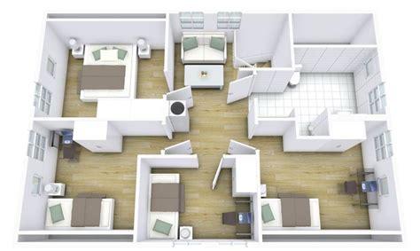 Haus Grundriss 3d by Grundriss Haus Modern 3d
