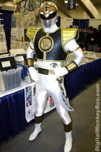 White Tiger Power Ranger Costume
