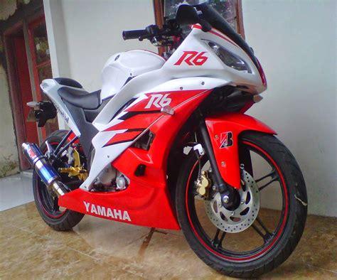 Tempat Modifikasi Yamaha Byson by Modifikasi Byson Jadi R6 Thecitycyclist