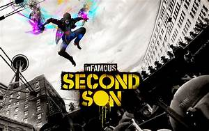 inFamous Second Son Smoke, Neon an Video Wallpaper by ...