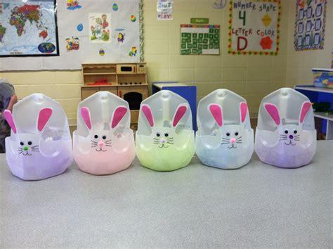 easter baskets my toddlers made in preschool out of milk 199 | 64ac4cdaa40c47951aeef3385de14de1