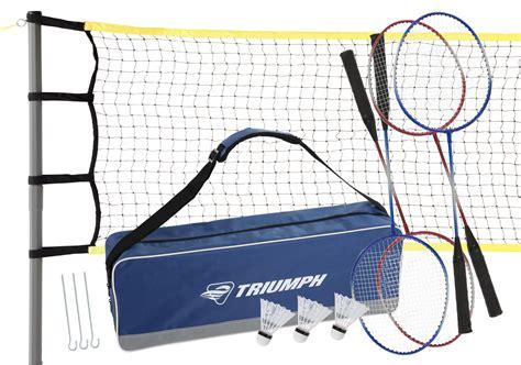 foto de Triumph 4 Player Competition Backyard Badminton Set