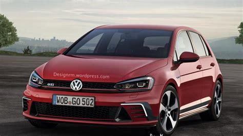 siege golf 1 gti volkswagen golf and golf gti facelift rendered ahead of