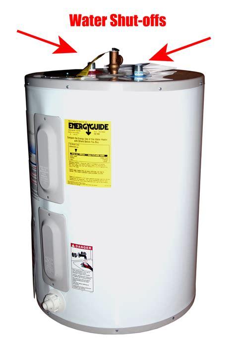 Bill Howe Emergency Water Heater Shutoff