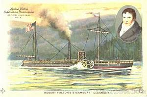 Robert Fulton's Steamboat Clermont Exposition