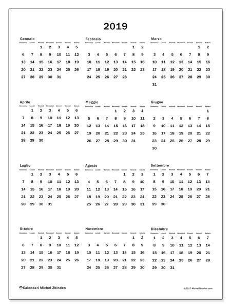 calendario annuale 2019 da stare gratis calendario 2019 33ds michel zbinden it