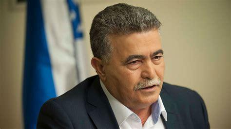 nom de chambre d h el la venue d 39 un ancien ministre de la défense israélien au