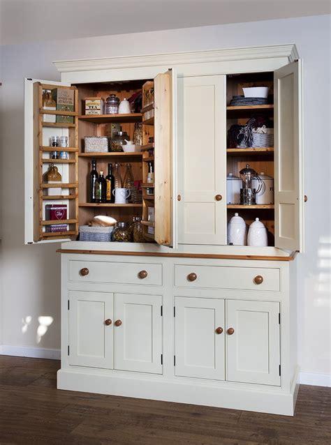Cotton Cupboard by Bespoke Larder Cupboard Cornish Style