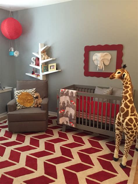 Kinderzimmer Ideen Rot by Top 9 Nursery Decorating Ideas In And Gray Interiors