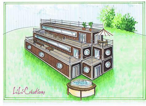 maison en container 4 le de elise fossoux