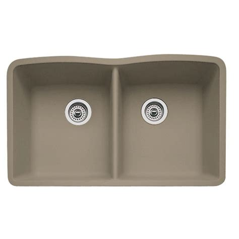 kitchen sinks blanco blanco undermount granite 32 in 0 2984
