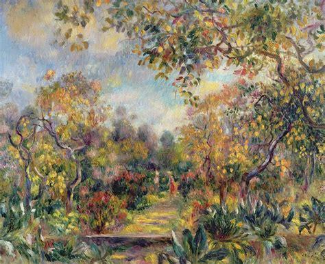 Landscape At Beaulieu Painting By Pierre Auguste Renoir