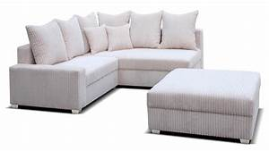 Cord Sofa : corner cord fabric sofa and footstool homegenies ~ Pilothousefishingboats.com Haus und Dekorationen
