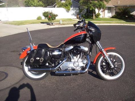 2007 harley davidson 174 xl883c sportster 174 883 custom orange and black moorpark california