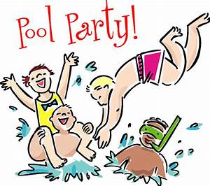 Images For > Swimming Pool Party Cartoon - Cliparts.co