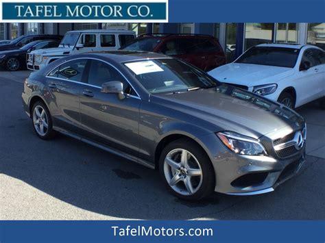 New 2018 Mercedesbenz Cls Cls 550 4matic® 4door Coupe