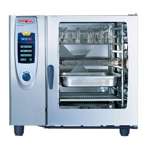 cuisine rational rational sccwe102e combi steamer self cooking center