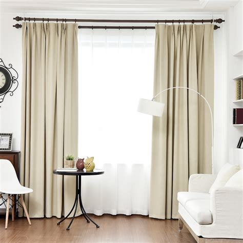 byetee blackout curtains for living room custom linen