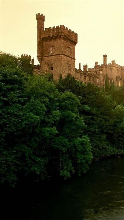 Ireland Background Lismore Castle Waterford County