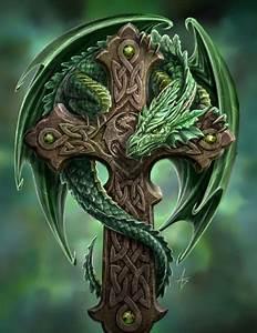 Dragons Drachen Namen : green dragon on cross michael allred flickr ~ Watch28wear.com Haus und Dekorationen
