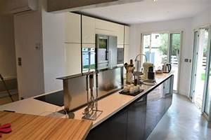 comment amenager une cuisine en longueur le blog d With amenager une cuisine en longueur