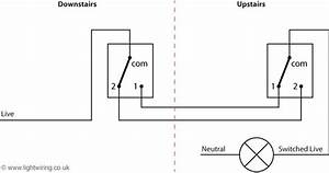 Two Way Swtiching With 2 Wire Control  With Images