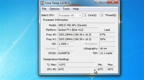 top  software  monitoring  pcs cpu temperature