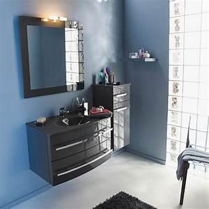 Meuble Salle De Bain Promo Destockage : meuble de salle de bains gris 80 cm deliss castorama salle de bains pinterest meubles de ~ Teatrodelosmanantiales.com Idées de Décoration