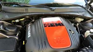 Custom 5 7l Hemi Engine Cover  2014 Dodge Charger R  T Plus