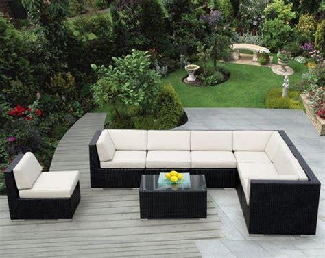 canape exterieur resine tressee salon de jardin en résine avantages et photos inspirantes