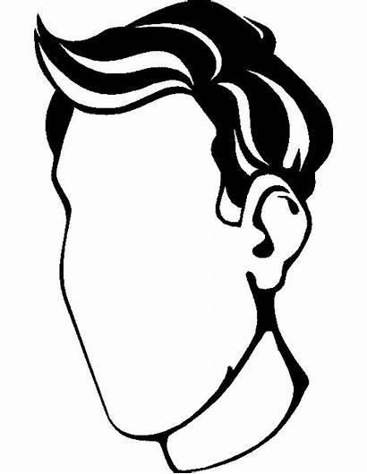 Coloring Face Pages Human Faces Outline Sheets
