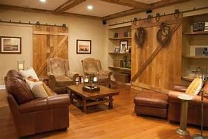 Impressive, Barn, Door, Decorating, Ideas, For, Graceful, Basement, Farmhouse, Design, Ideas, With, Count