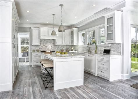 gray kitchen cabinets with hardwood floors 15 cool kitchen designs with gray floors kitchen remodel