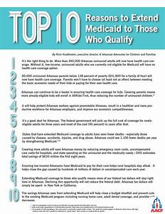 Top 10 Reasons To Extend Medicaid To Those Who Qualify