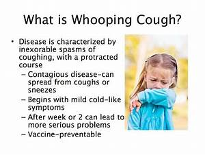 What You Need to Know about Whooping Cough