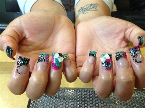 color changing acrylic nails changing colors nail nail design from coolnailsart