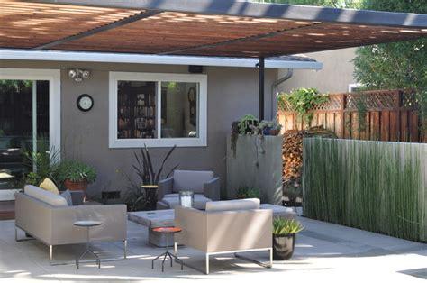 shaded patio modern patio san francisco by huettl