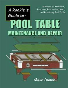 A Rookie U0026 39 S Guide To Pool Table Maintenance And Repair  A