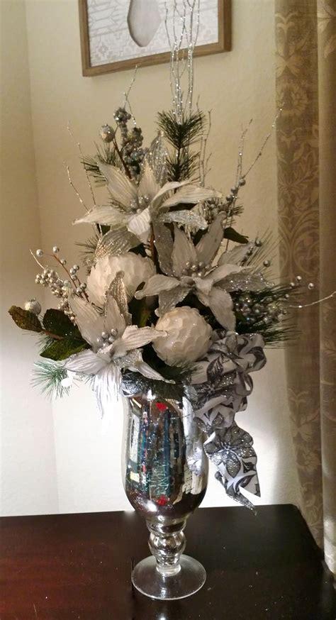 ideas  christmas floral arrangements