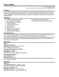 Resume Solutions Inc by Foreman Resume Exle Universal Solutions Inc