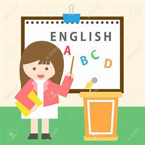 Blackboard clipart teaching english - Pencil and in color ...