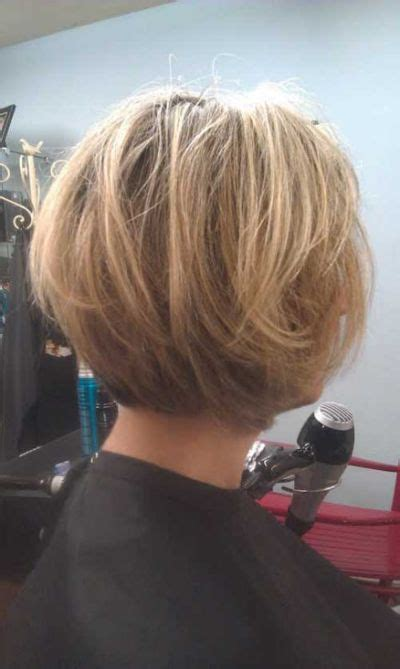 Photos Of Hairstyles Front And Back by Layered Stacked Bob Haircut Photos Front And Back Yahoo