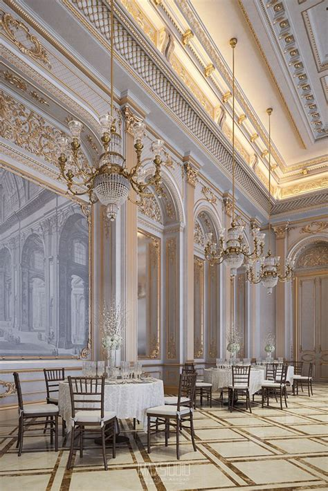 the white palace on behance baroque interior design