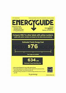 Energy Guide For Refrigerators Samsung Rs25h5111sr  Aa