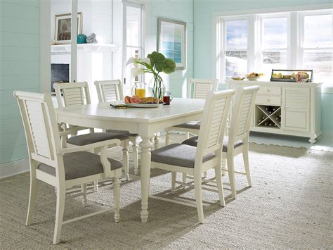 broyhill furniture seabrooke 7 turned leg dining